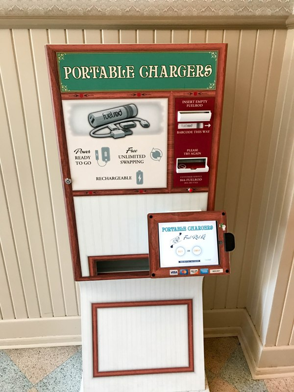 Fuel Rod: Disney's Portable Phone Charger System