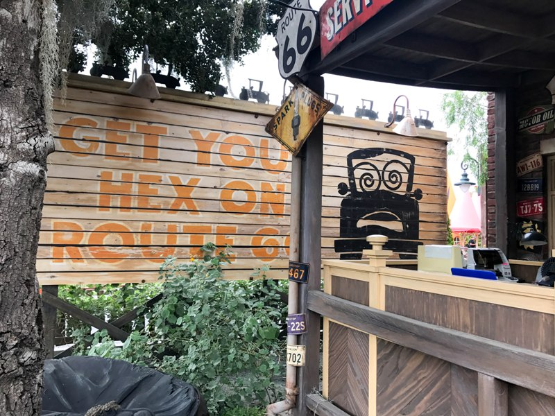 Halloween Takes Over CARS LAND and it's Creepy Cute