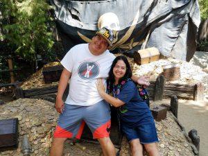 Venessa and Jason's FANTASMIC! Engagement Story