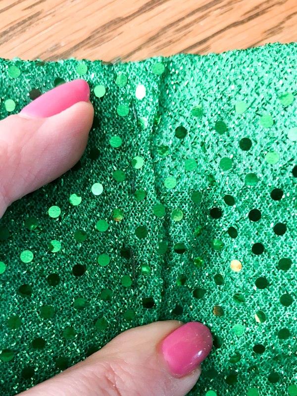 DIY Running Sparkle Skirt Tutorial
