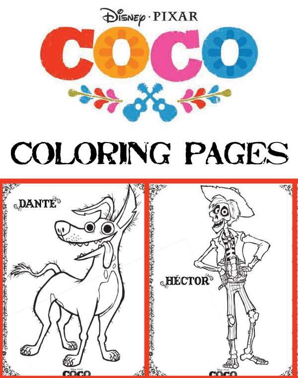 Coco Coloring Pages And Activities This Fairy Tale Life