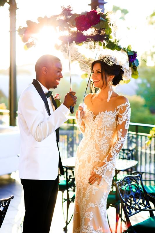 A Beautiful Wedding Shoot at Jazz Kitchen in Downtown Disney