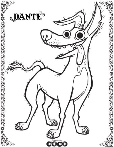 COCO Coloring Pages and Activities