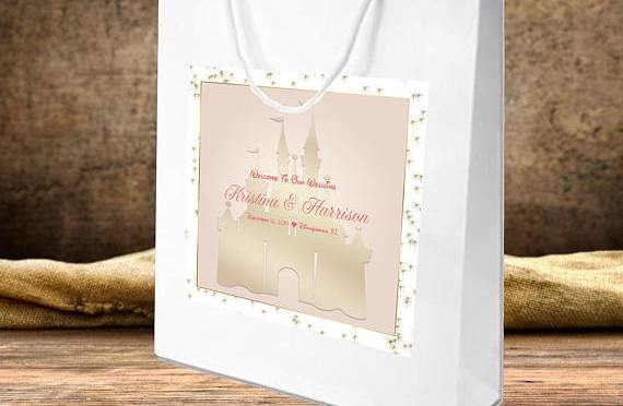 Designing welcome bags for your disney wedding this fairy tale life designing welcome bags for your disney wedding junglespirit Image collections