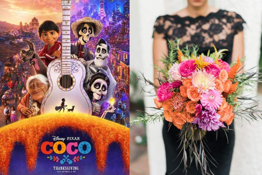 """COCO Wedding Ideas - How to Have a """"Day of the Dead"""" Inspired Wedding"""