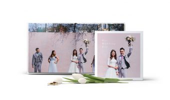 Blurb's new Layflat Books are Perfect for Wedding Albums