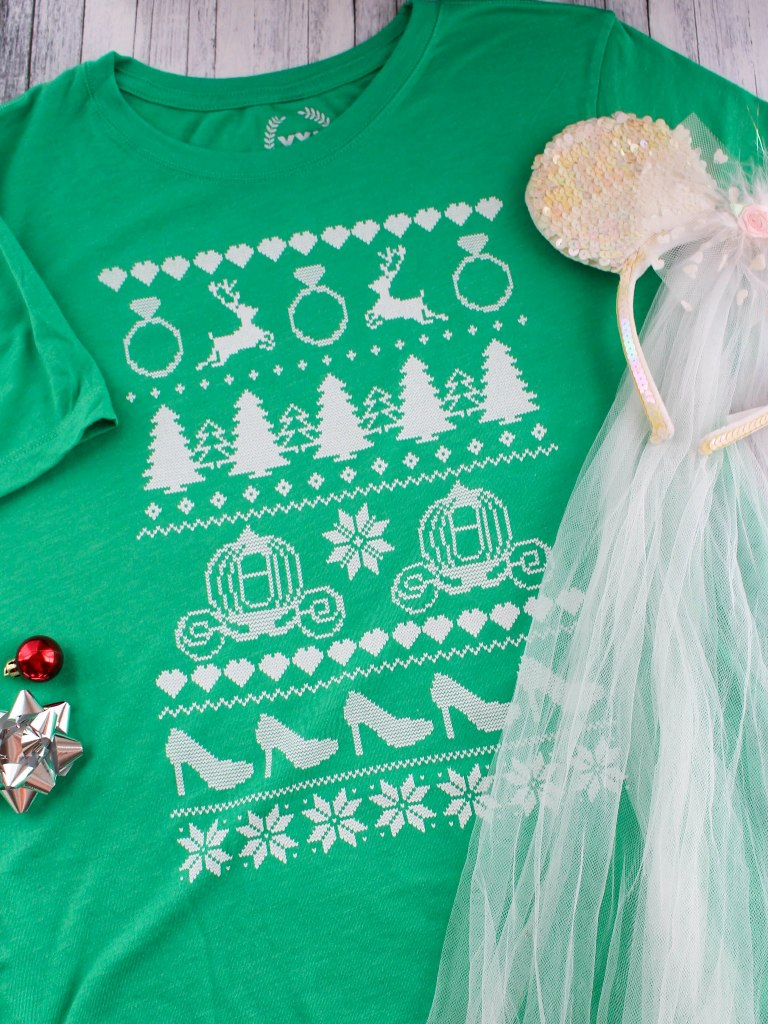 These Ugly Sweater Shirts are Perfect for Disney Brides!