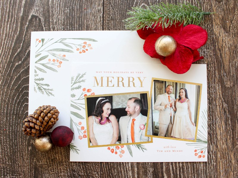 showing off our sparkly holiday cards for 2017 - Holiday Cards 2017