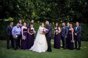 Alexis and Garrett's Ultraviolet Disneyland Wedding with Elegant Star Wars Details
