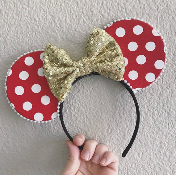 #RockTheDots Every Day with These Adorable Minnie Mouse Ears!