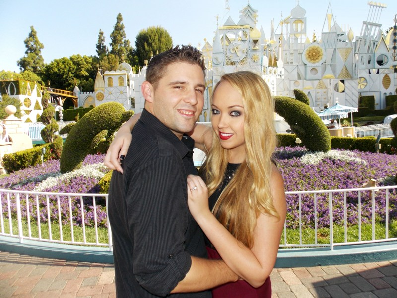 Sarah and Jim's Engagement Photos at Disneyland