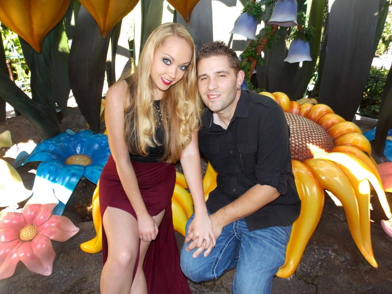 Sarah and Jim's Engagement Photos at Disneyland