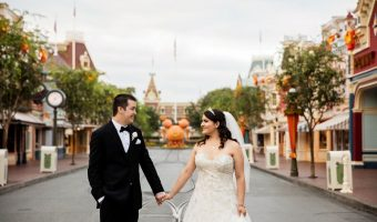 "Michelle and Brian's ""Happily Ever After"" Disneyland Wedding"