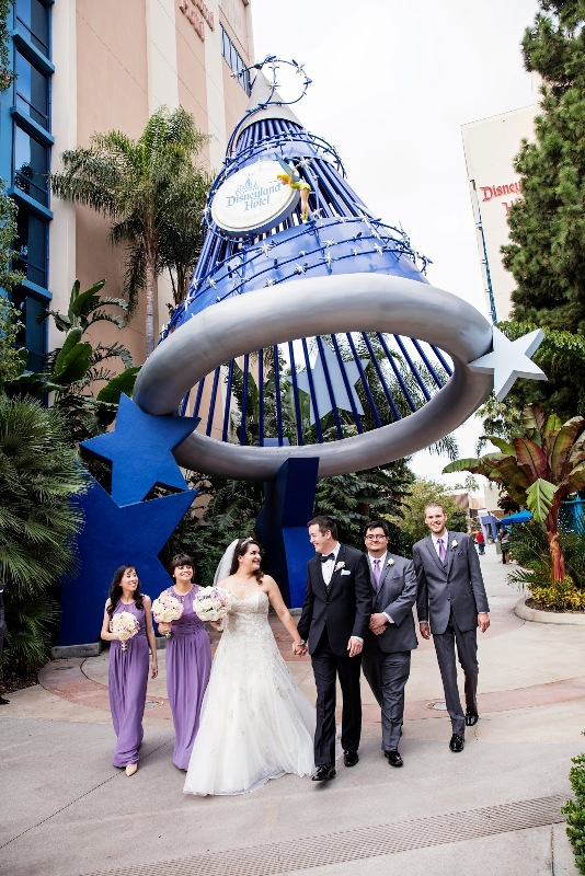 """Michelle and Brian's """"Happily Ever After"""" Disneyland Wedding"""