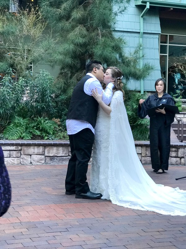 "A True ""Guest"" Post - Michelle and George's STAR WARS Disneyland Vow Renewal"