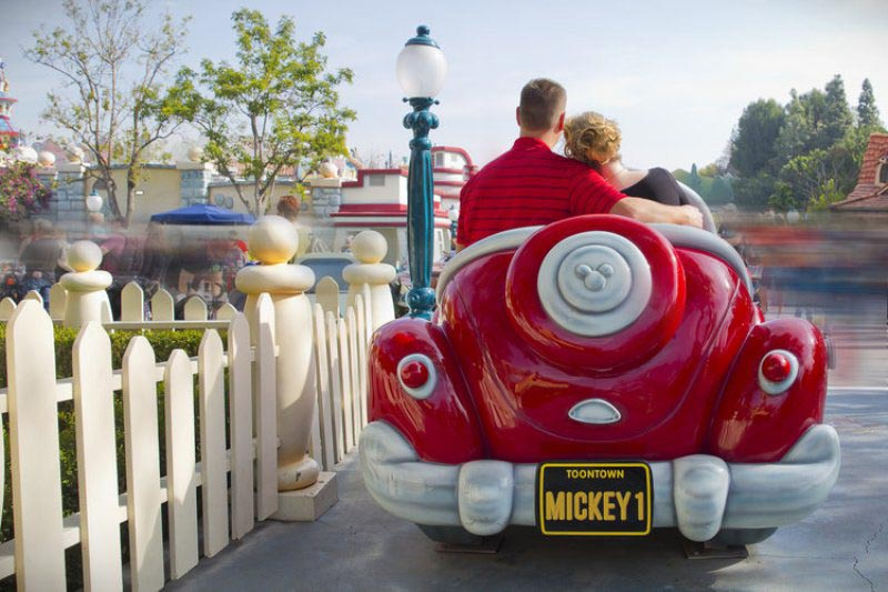 Julie and Andrew's 10th Anniversary Disneyland Photo Session