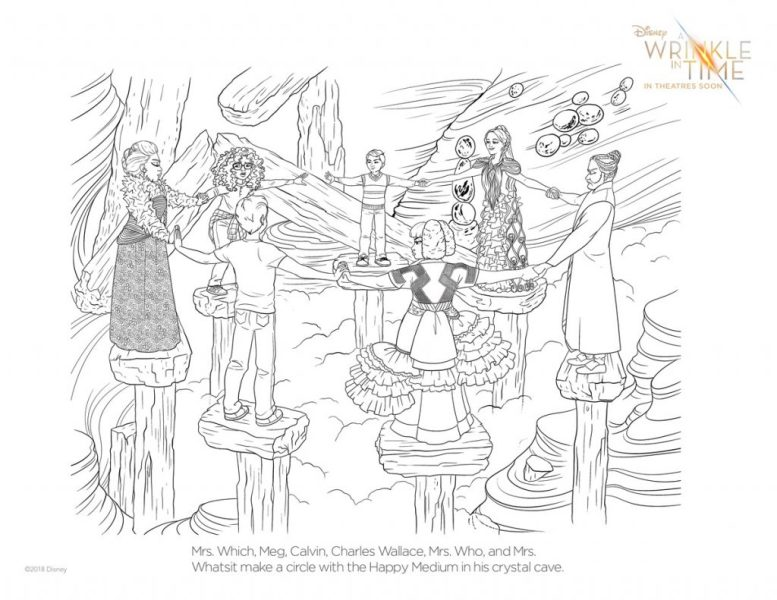 A WRINKLE IN TIME Coloring Pages and Activities