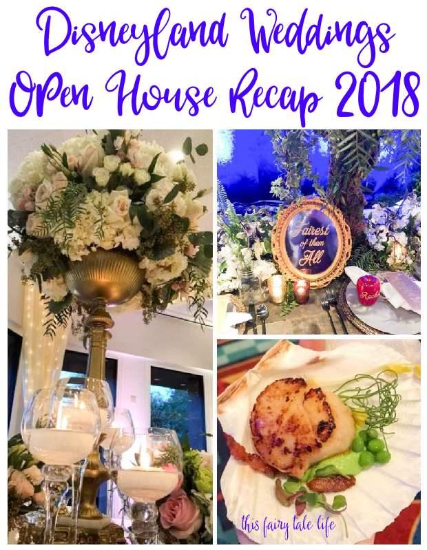 Disneyland Weddings Open House 2018 Recap