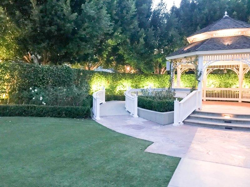 Going Green? Artificial Grass Installed at Disneyland's Rose Court Garden