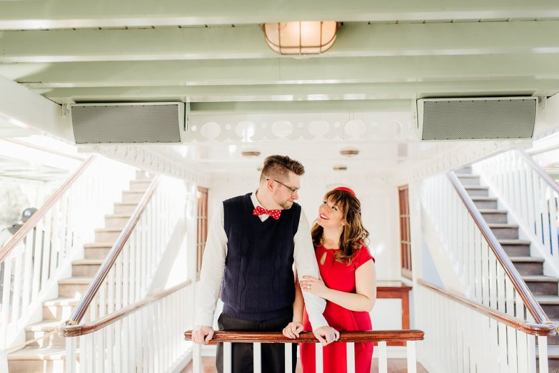 Debbie and Zack's Enchanting Disneyland Engagement Photos