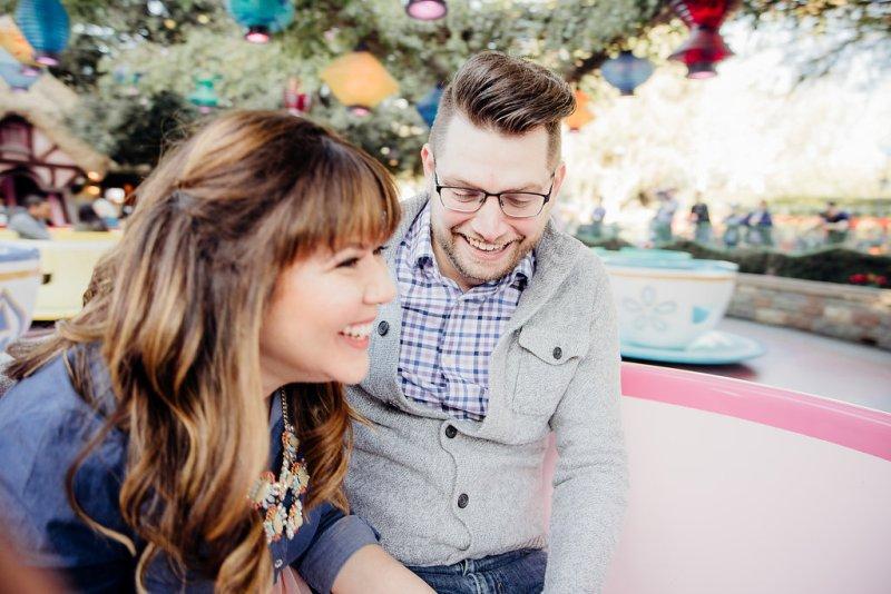 Debbie and Zack's Enchanting Disneyland Engagement Photos