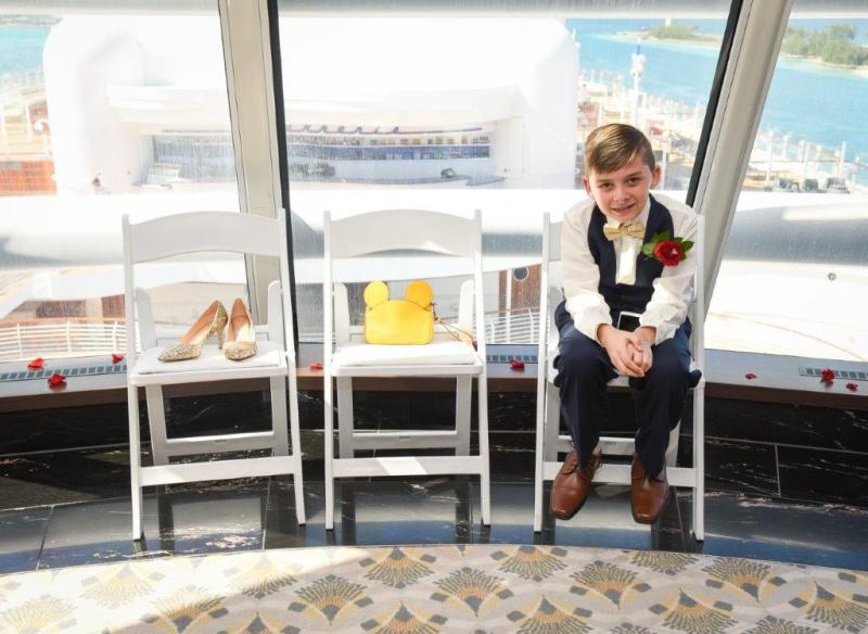 Ashley and Simon's Enchanting Disney Dream Cruise Wedding
