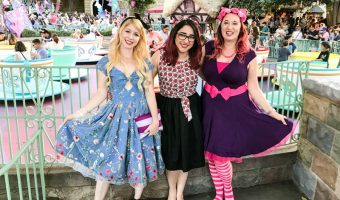 Our ALICE IN WONDERLAND DisneyBound for Dapper Day