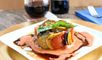 Easy Ratatouille with Creamy Tomato Sauce Recipe