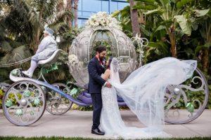 Yvette and Josh's Vintage Garden, Alice in Wonderland, Roaring Twenties Disneyland Wedding: The Ceremony