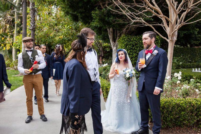 Yvette and Josh's Vintage Garden, Alice in Wonderland, Roaring Twenties Disneyland Wedding: The Reception