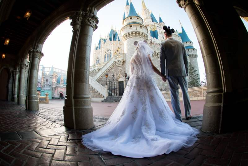 Rachael and Derek's Fairy Tale Elopement at Walt Disney World