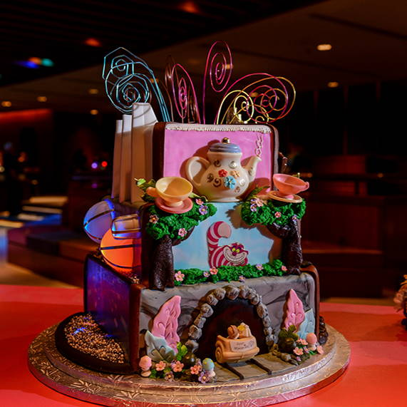 9 Wedding Cakes That Look Like Disney Attractions