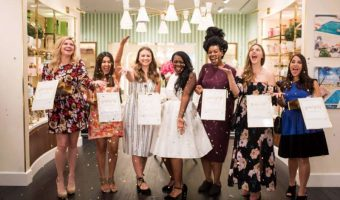 A Fabulous Bridesmaid Proposal Party at Kate Spade