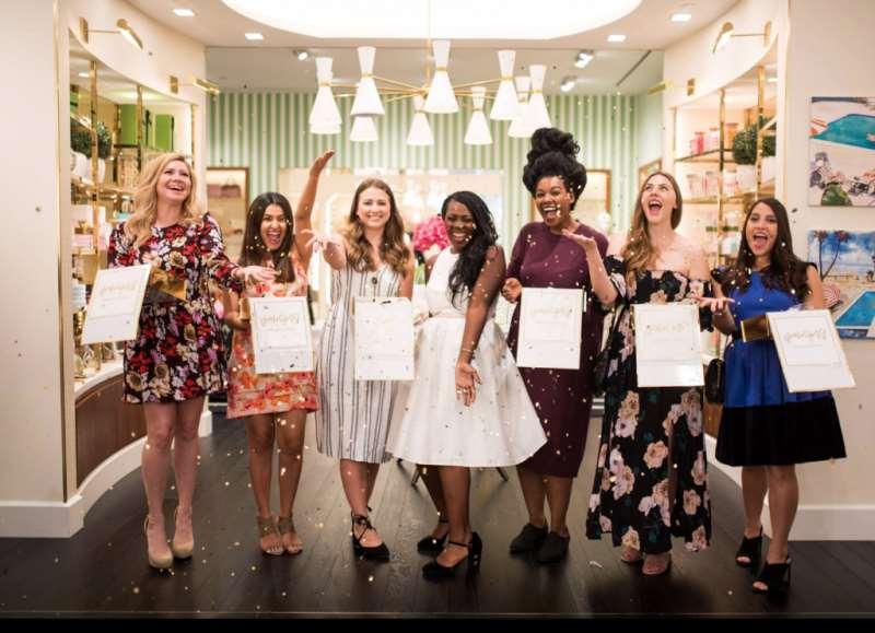 A Fabulous Bridesmaid Proposal Party at Kate Spade