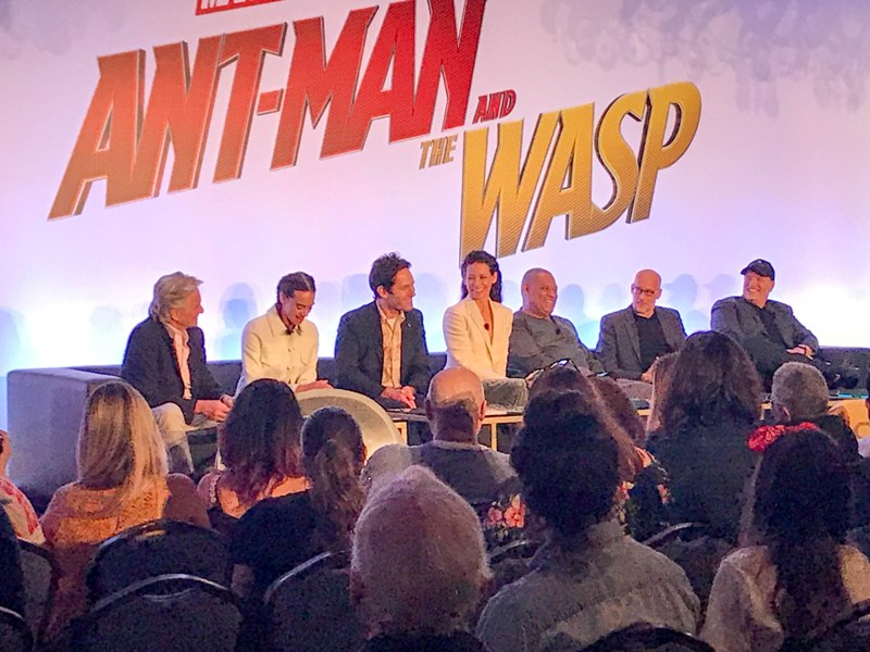 Interviews with the Cast and Creators of ANT-MAN AND THE WASP