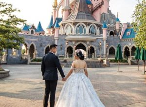You Can Now Take Wedding Portraits at Disneyland Paris