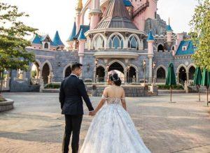 You Can Now Take Wedding Portraits at Disneyland Paris