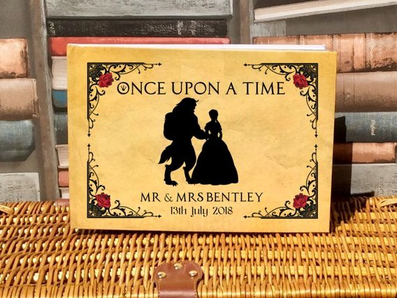 Unique Disney Wedding Guest Book Ideas