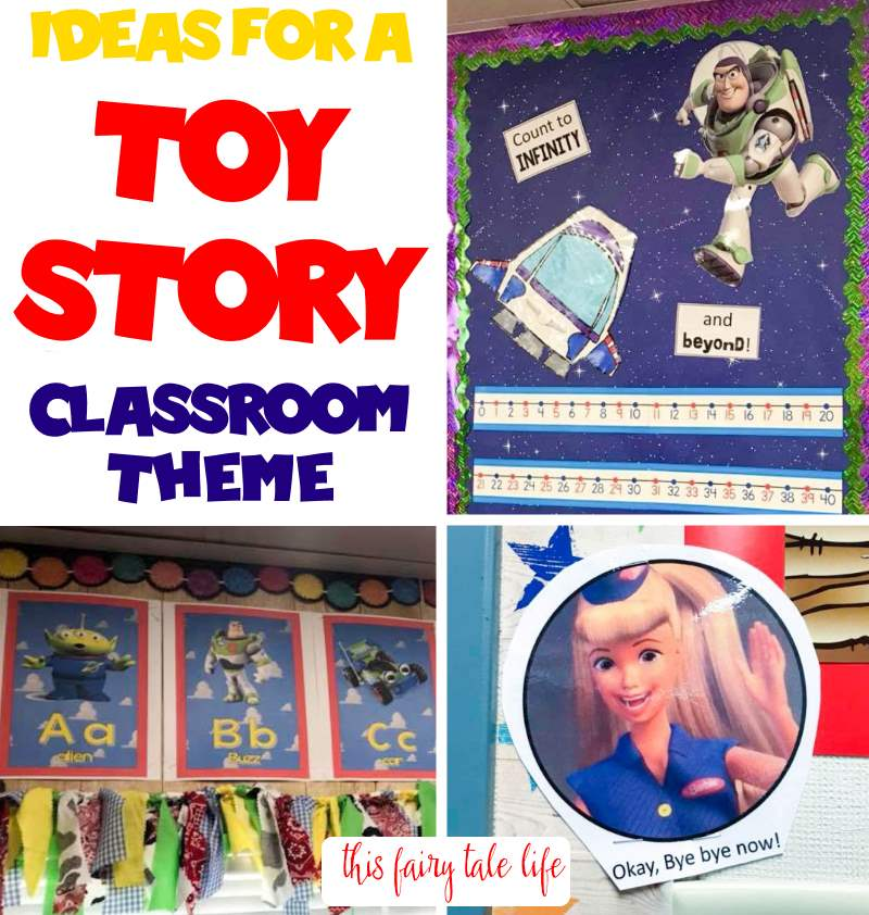 Ideas for a TOY STORY Classroom Theme