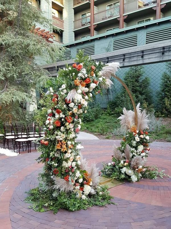 Recap of Disney's Grand Californian Hotel Wedding Showcase 2018