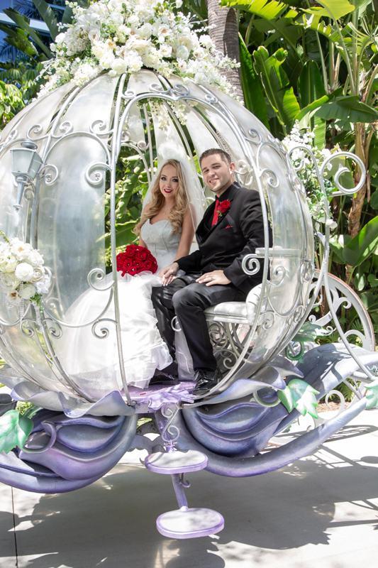 Sarah and Jim's Romantic Fairy Tale Disneyland Hotel Wedding // David Torralva Photography