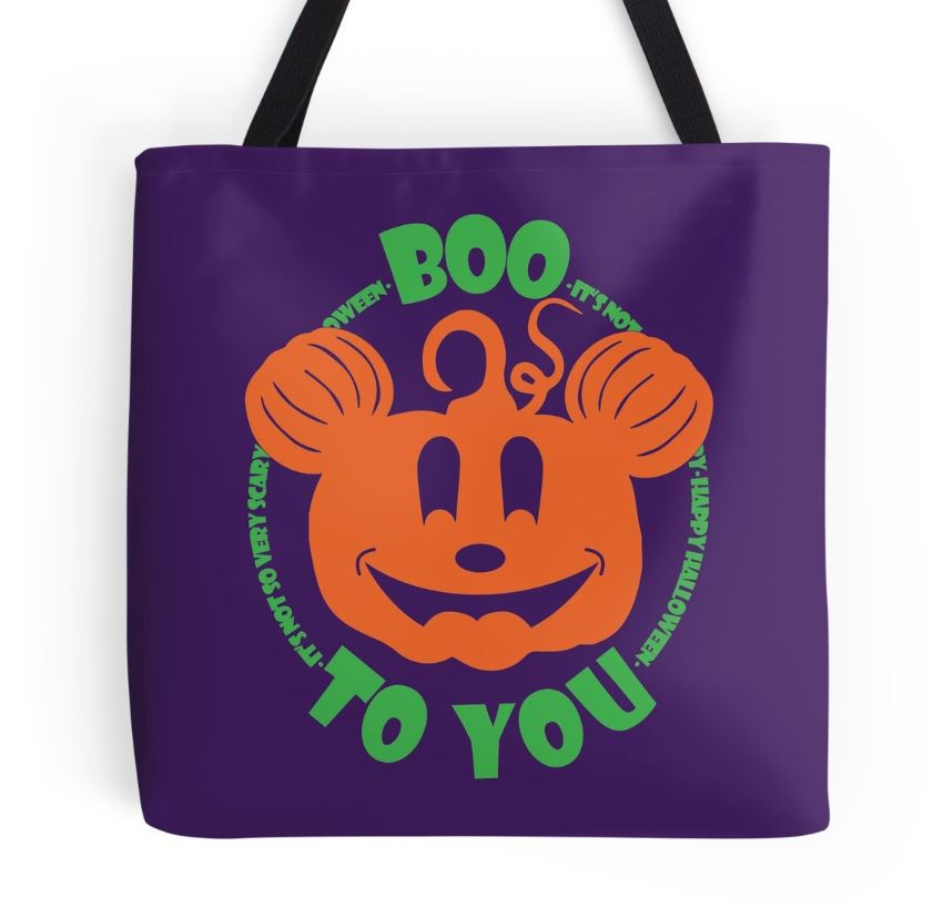 Grab One of These Cute Tote Bags for Disney's Halloween Party