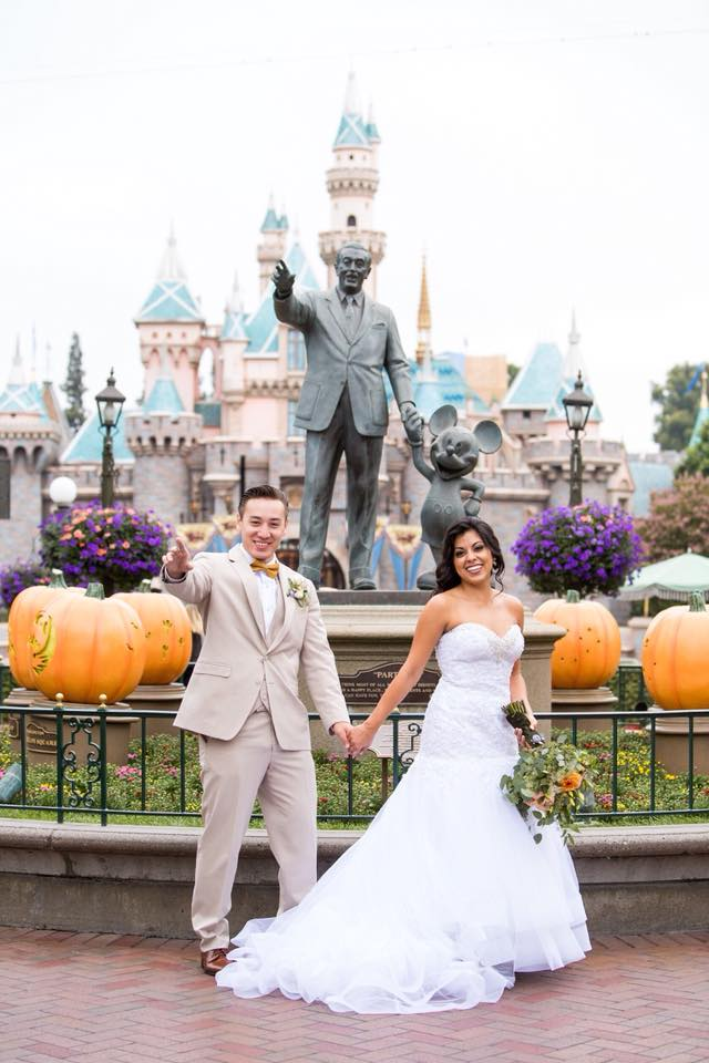 Disneyland Weddings During Halloween are the Best