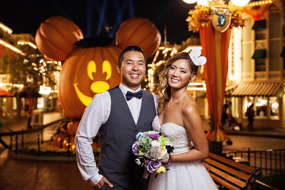 Disneyland Weddings During Halloween are the Best