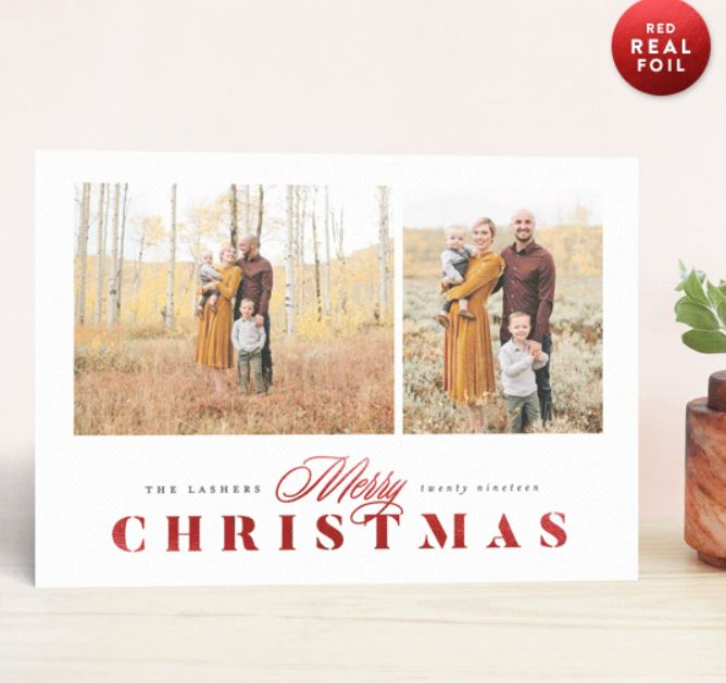 Make Everyone Jealous of your Holiday Cards with Minted