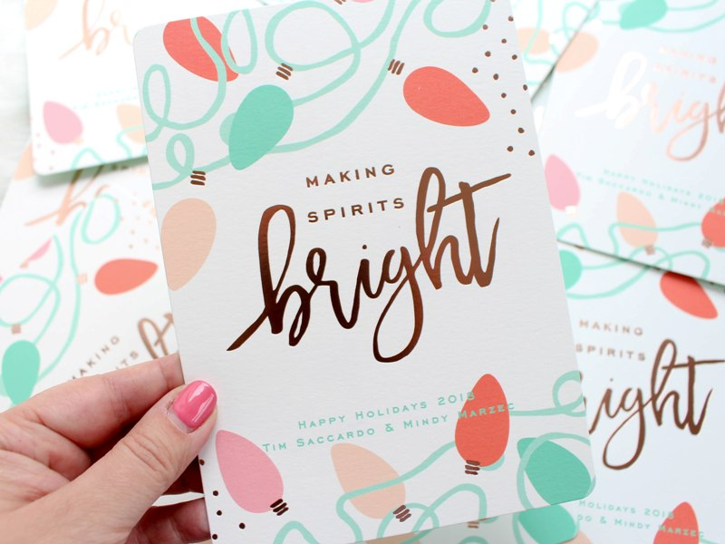 Our Merry and Bright Holiday Cards for 2018