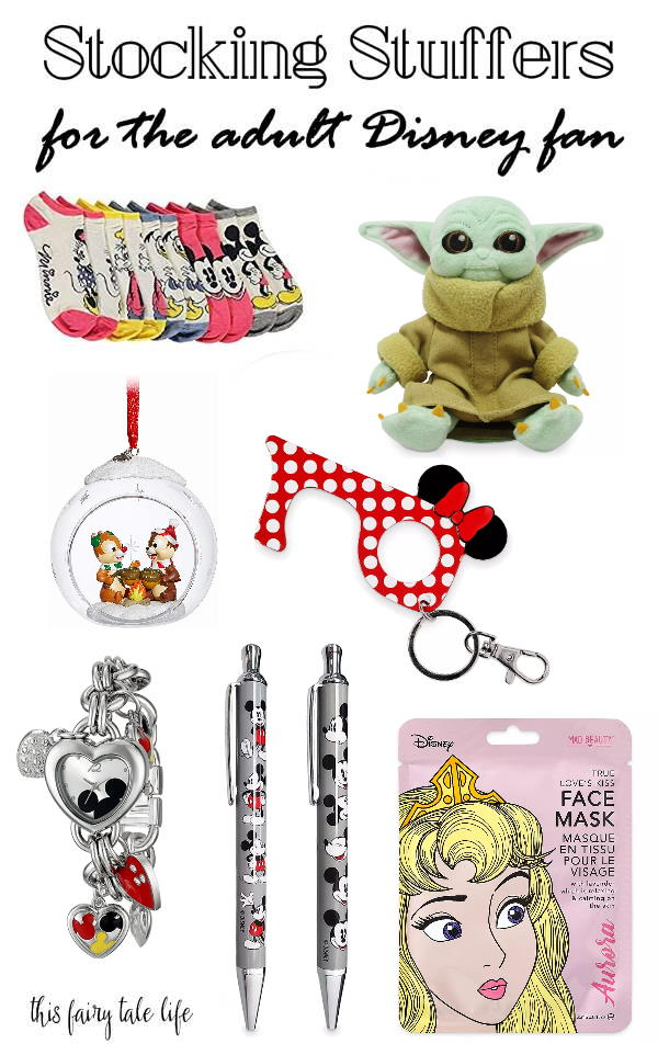Collage of various Disney items