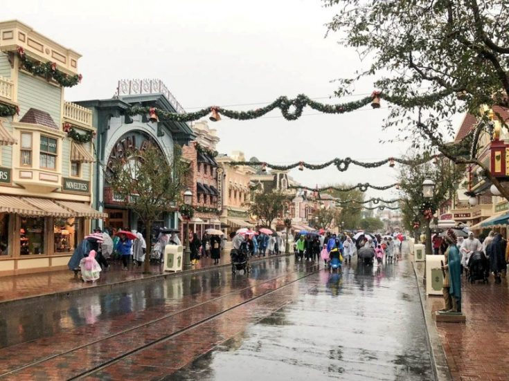 Rainy Day at Disneyland - Tips and Advice