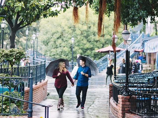 Rainy Day at Disneyland - Tips and Advice