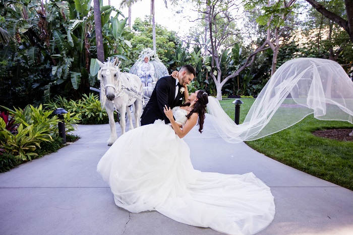Erica and Diogo's Fairy Tale Wedding at The Disneyland Hotel